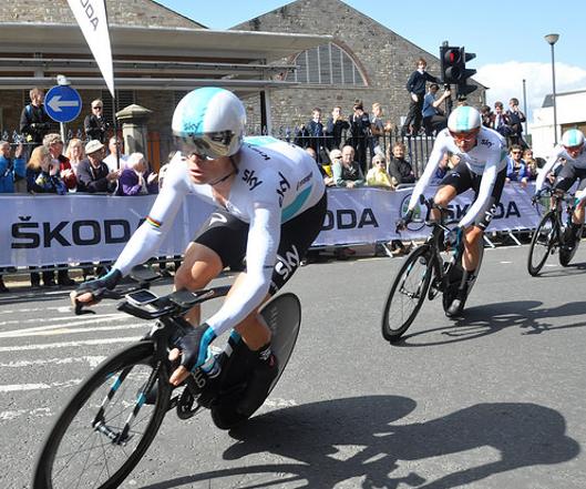 Trofeo del Tour de France, robado tras una exhibición